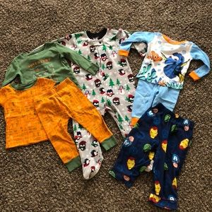 Baby boy pajama lot, sz 18mo